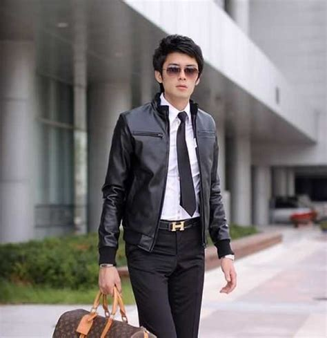 March Jkt Guess Jaket Denim Outerwear Casual Korean Style Murah Ori casual leather jackets for jackets review