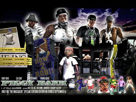 50 Cent Piggy Bank Romotion Studios