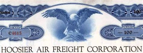 hoosier air freight corporation airborne cargo lines 1947