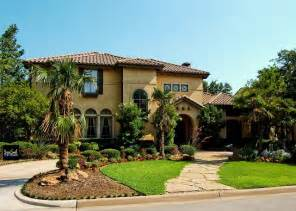 Italian Villa Style Homes Mediterranean Home Builder Dallas Fort Worth