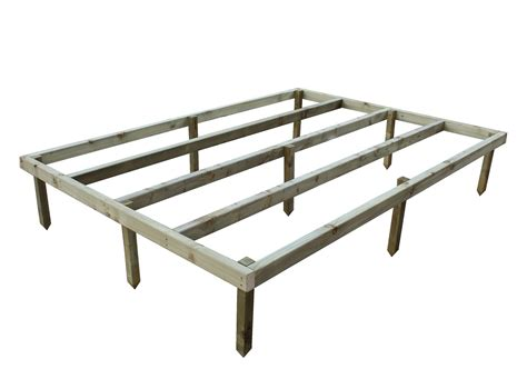 empire wooden shed base