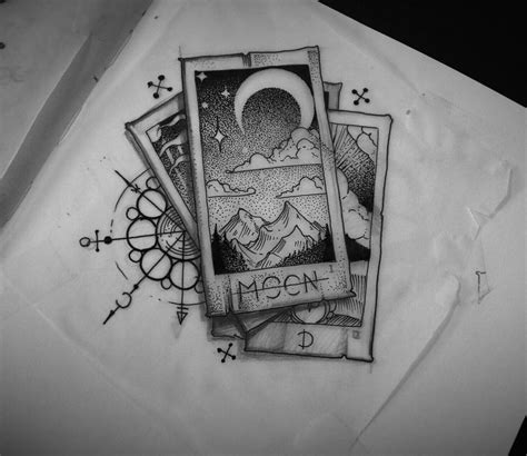 tarot card tattoo designs tattoodesign design tarot card sketch