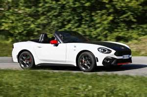 Abarth 124 Spider Performance Specifications Confirmed For Abarth 124 Spider