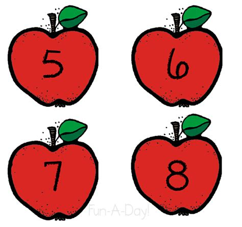 Free Apple Gift Card Number - apple number activity for 1 1 correspondence