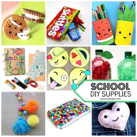 diy school supplies for school supplies diy ideas ted s