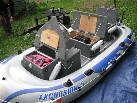 inflatable fishing boat mods intex excursion 5 inflatable mod page 4 the hull