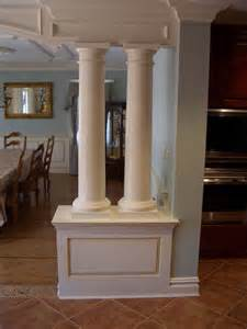 interior columns interior columns pilasters long islands molding