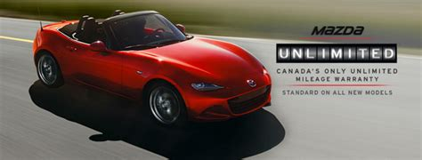 mazda warranties free unlimited mileage warranty program from mazda sets