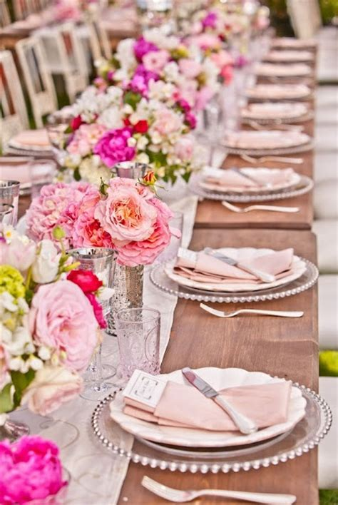 wedding tablescapes a beautiful pink tablescape tantalizing tablescapes