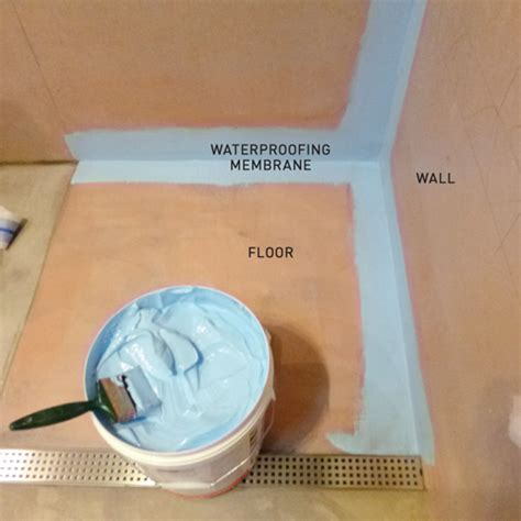bathroom shower waterproofing how to lay bathroom tiles new zealand handyman magazine