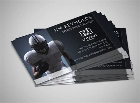 business card sports schedule template sports photography business card template