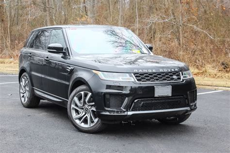 land rover sport 2018 2018 land rover range rover sport v6 supercharged hse