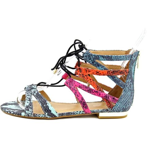 color sandals aldo wares textile multi color gladiator sandal sandals