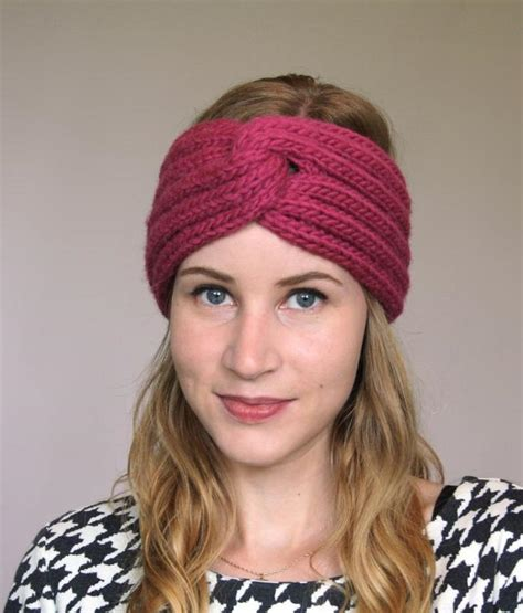 knit turban knitted turban headband patterns a knitting