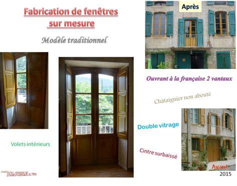 Volets Int Rieurs Bois 2681 by Fen 234 Tre En Bois Sur Mesure Menuiserie Hijosa Et Fils