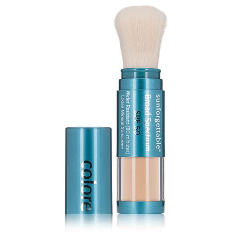 color science sunforgettable colorescience sunforgettable mineral powder brush