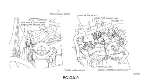 inspiring nissan ga16de engine diagram contemporary best