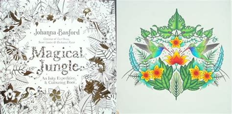 libro magical jungle an inky magical jungle an inky expedition and colouring book a review colouring in the midst of madness