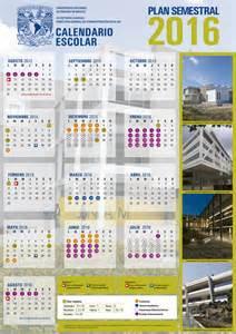 Calendario 2018 Ipn Calendario Unam Plan Semestral 2016