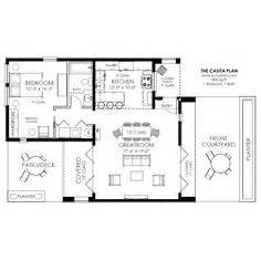 backyard casita plans 1000 images about small house plans on pinterest floor