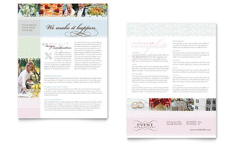 Event Program Template Publisher by Wedding Event Planning Datasheet Template Word Publisher