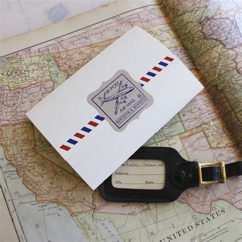 Seal And Send Wedding Invitations by Air Mail Seal And Send Wedding Invitation
