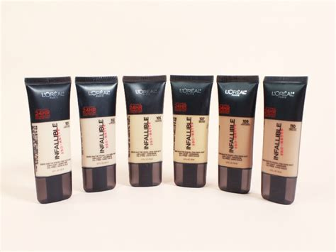 Harga L Oreal Infallible Matte Foundation loreal infallible pro matte foundation 102 shell