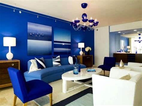 dekorasi ruang tamu warna biru muda rumah impian
