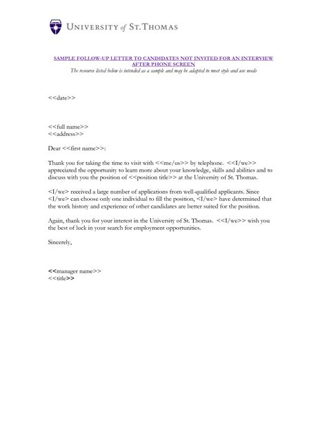 Rejection Letter Candidate Sle Letter Of Rejection For Applicant After Reportd24 Web Fc2