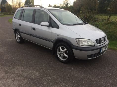 opel zafira 16 7 seater nctd driving for sale in