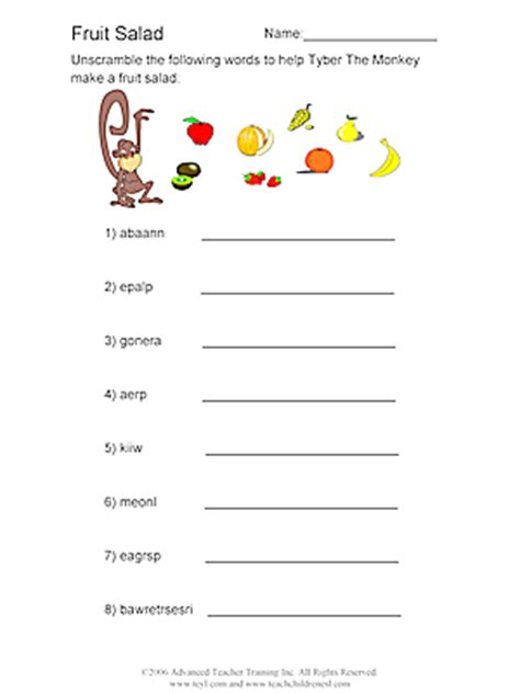 fruit unscramble printable images of fish search results calendar 2015