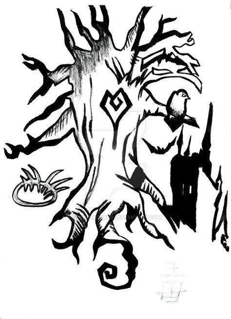 tree women by aramyt on tim burton tree drawing www pixshark images