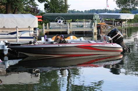 triton boats rough water jake schnell s triton boat for sale on walleyes inc www