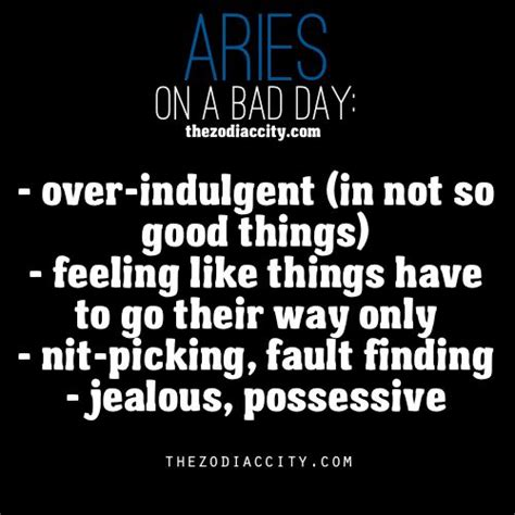 zodiac aries on a bad day what s your sign pinterest