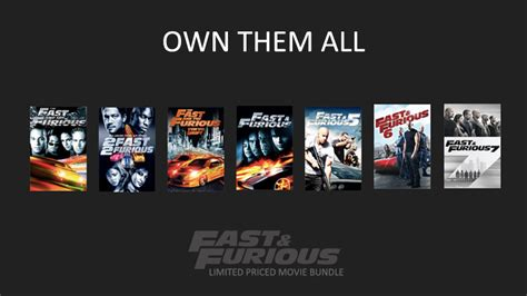 films zoals fast and furious don t miss this own all 7 fast and furious movies 163 3