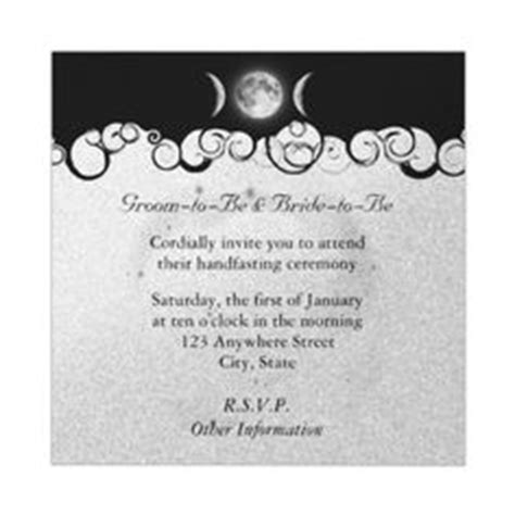 wiccan wedding invitation wording 1000 images about wedding ideas on handfasting pagan wedding and wiccan wedding