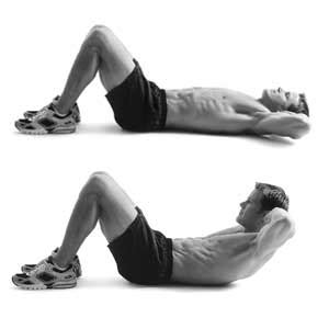 core exercise abdominal crunch  excuses health