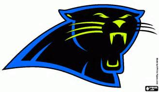 what are the carolina panthers colors carolina panther coloring pages