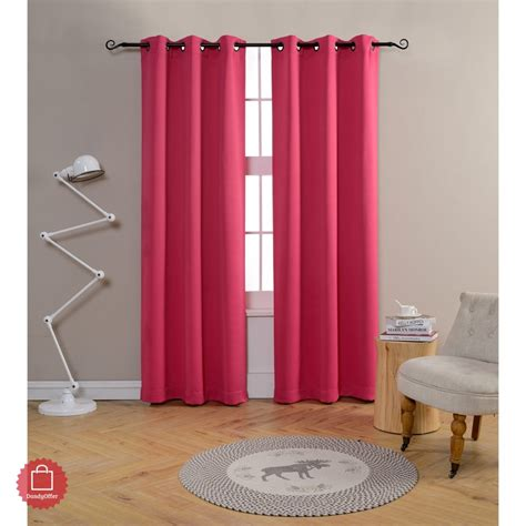 Pink Blackout Curtains For Nursery Curtains For Room Living 84 Inch Bedroom Pink Blackout Nursery Thermal