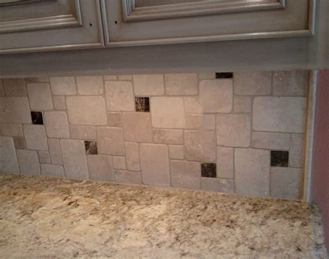 durango emperador marble backsplash traditional kitchen