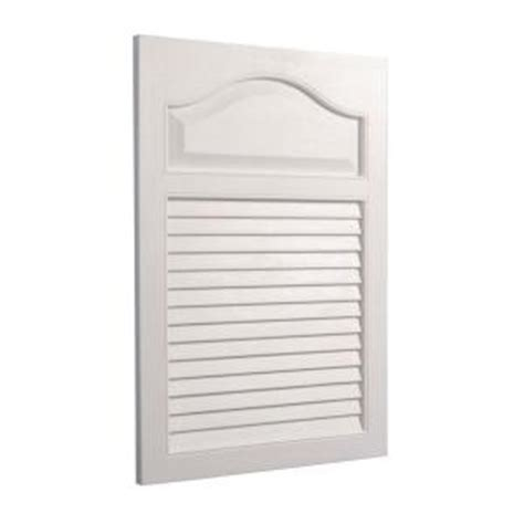 Louvered Cabinet Doors Home Depot Louver 16 25 In W X 24 5 In H X 4 625 In D Recessed Medicine Cabinet In White 615x The Home