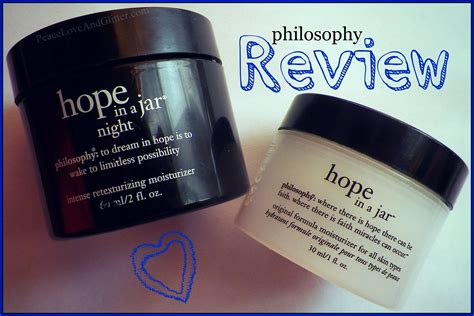 Philosophy In A Jar Review by Philosophy In A Jar Day Review Peace