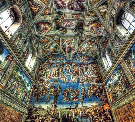 sistine chapel rome photography free wallpapers