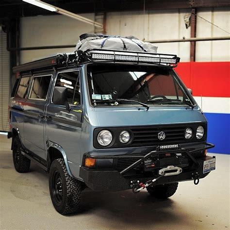 volkswagen vanagon lifted gadmachine vehicles volkswagen vw