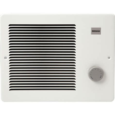 Wall Heater Knobs by Broan 174 White Small Electric Wall Mounted Heater With