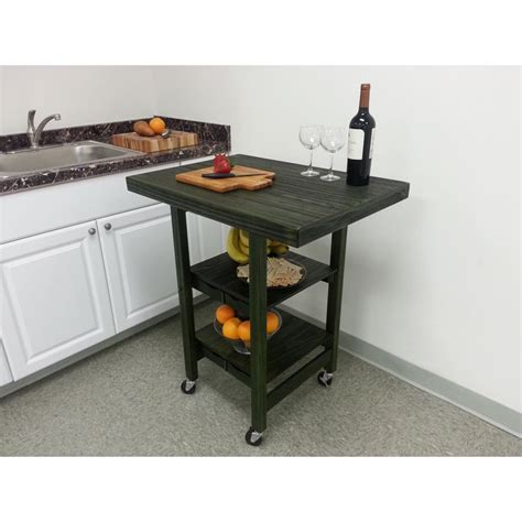 oasis island kitchen cart oasis concepts textured rectangular folding kitchen island