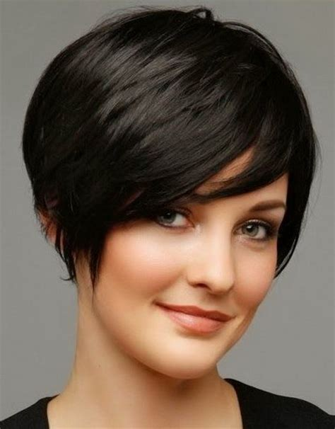 short haircuts for straight hair oval face short hairstyle for oval face