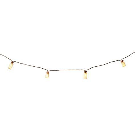 string of lights clipart mini glass jar led string lights bed bath beyond