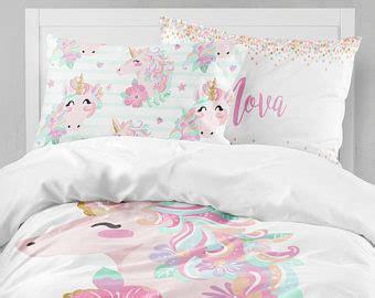home decor girls room decor unicorn pillow case nursery unicorn bedding etsy