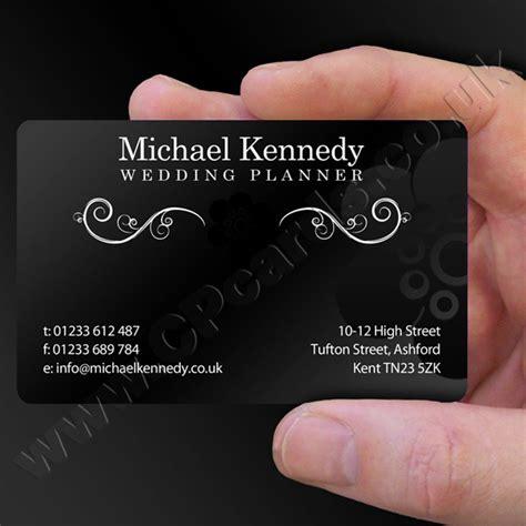 Satin Black Business Cards